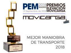 Premio Maniobra de Transporte 2018